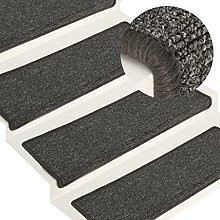 Grey and black Needle-punched fabric (100%
