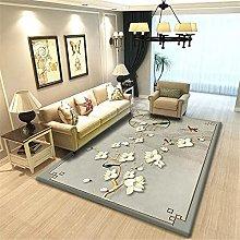 grey Cheap Area Rug Living room printed carpet
