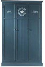Grey closet W 125cm Newport