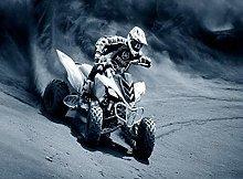 Grey Desert Buggy race-50x60cm,DIY 5D Diamond