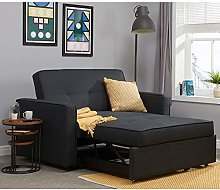 Grey Fabric Sofa Bed, Happy Beds Otto Sofa Bed