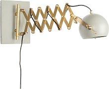 Grey Sarana wall lamp