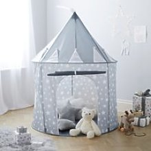 Grey Star Tent, Grey, One Size