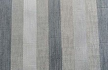 Grey Stripe Twill Fire Retardant Upholstery Fabric