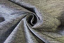 Grey Textured Multi Purpose Upholstery Curtain