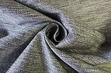 Grey Woven Textured Upholstery Sofa Bed Caravan