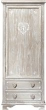 Greyed Paulownia Wood Closet