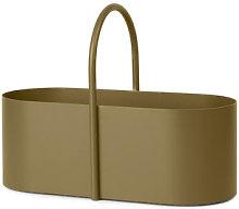 Grib Basket by Ferm Living Olive green