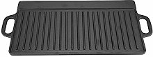 Griddle Pan Double-Sided Non-Stick, Grill Pan Cast