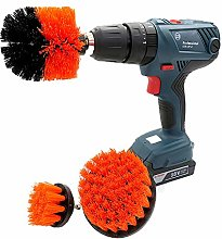 Grill Brush Cleaning Kit - Gas Grill - Drill Brush
