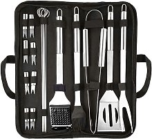 Grill Cutlery Set 20 Piece Grill Accessories High