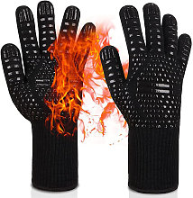 Grill Gloves Heat Resistant Oven Gloves Up to 800