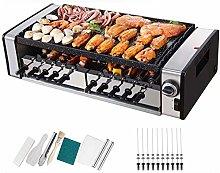 Grill Indoor Barbecue Griddle - 2-in-1 Indoor