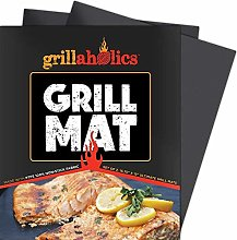 Grill Mat - Lifetime Guarantee - Set of 2 Nonstick