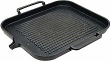 Grill Pan,BBQ Nonstick Grill Plate Aluminum Alloy