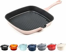 Grill Pan – Cast Iron Frying Pan Induction and