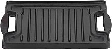 Grill Plate Tray, Cast Iron Grill with Handles BBQ