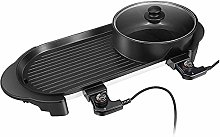 Grill Portable Electric Grill, Indoor Electric BBQ