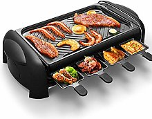 Grill Smokeless Indoor Barbecue Machine with 8