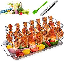 Grilled Chicken Rack with Tray, Wilecolly Chicken