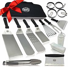 Grillers Choice- 16 PC Griddle Accessories Set-