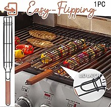 Grilling Basket - Set of 1 Heavy Duty Stainless