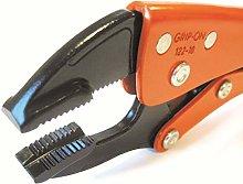 Grip-On 122-10-489 Jaw, Orange/Black, 10