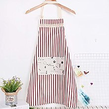 Griselda Max Kitchen 1Pcs Striped Cotton Linen