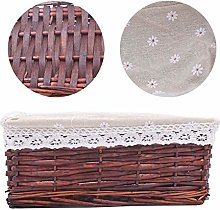 Grneric Woven Storage Baskets with Removable
