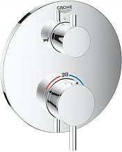 Grohe Atrio thermostatic bath mixer with