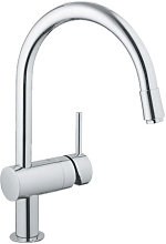 Grohe Minta Single lever sink mixer with mousse