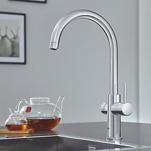 Grohe Red Duo Instant Boiling Water Tap Mixer and