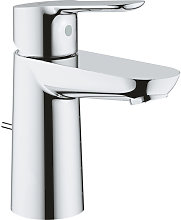 Grohe Single lever basin mixer with drainage, size