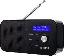 Groov-e Venice DAB/FM Bluetooth Alarm Clock Radio
