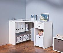 Grossi Corner Desk Symple Stuff