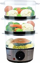 groundlevel Healthy 3 Tier Layer Food Steamer,