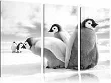 Group of Emperor Penguin Chicks 3 Piece