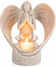 Groust Candle Holder, Angel Figurines Flameless