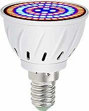 Grow Light Bulb 60 LEDs E14 Plant Growth Full