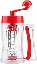 Growcolor Hand Mixer Baking Mixer Dispenser