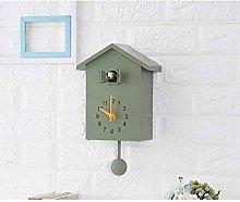 Gsaknc Sweeping Wall Clock Cuckoo Plastic Cuckoo