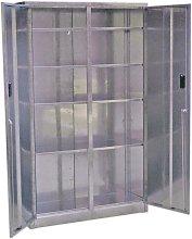 GSC110385 Galvanized Steel Floor Cabinet 4 Shelf