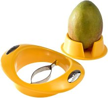 GSD Mango Slicer with Stand, Stainless Steel,