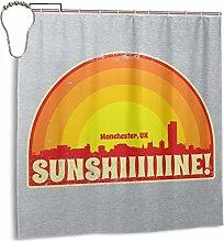 GSEGSEG Waterproof Polyester Fabric Shower Curtain