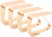 gshhd0 Tablecloth Clips, Stainless Steel