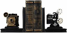 GSHWJS Creative Film Projector Bookend Desk Study