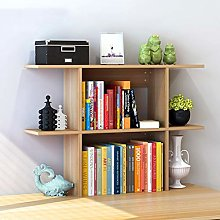 GSHWJS Desktop Bookshelf Books Sundries Storage