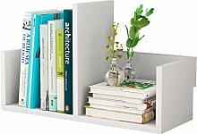 GSHWJS Desktop Bookshelf Desk Book Debris Storage