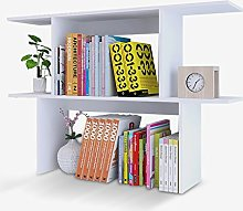 GSHWJS Desktop Bookshelf Desk Storage Rack Student