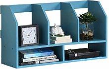 GSHWJS Desktop Bookshelf Layered Simple Storage
